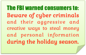 holiday cyber criminals
